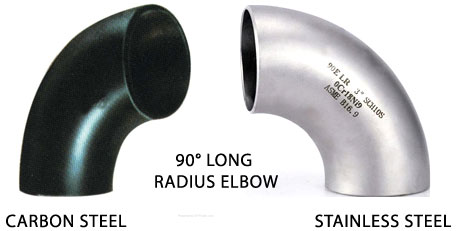 long radius elbows - 90° Long Radius Elbow